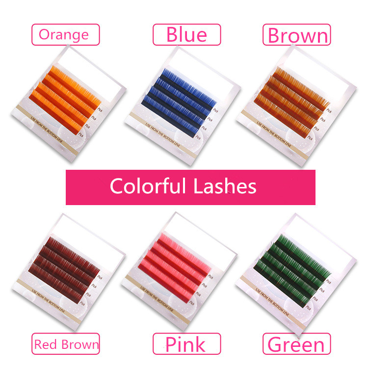 Colorful lashes-Qingdao Flower Sea Lashes Co , Ltd_eyelash